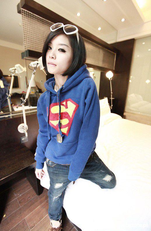 Ubrania pilnie szukam japan style superman