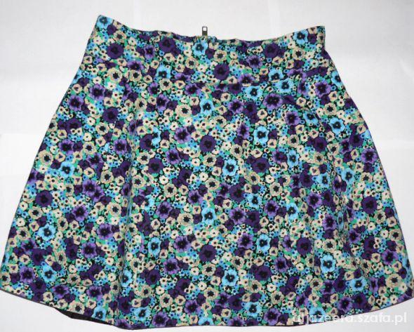 Spódnice Spódnica w kwiaty Devided By H&M r 36