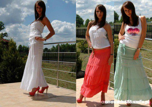 Spódnice nowa MAXI SPODNICA lato