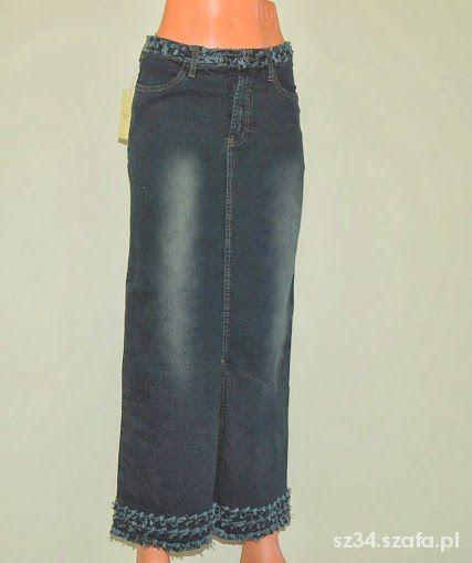 Spódnice Piękna jeansowa 36 NOWA
