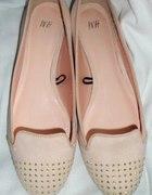 H&M lordsy beige nowe z metkami