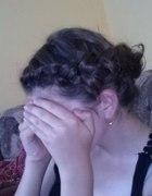 fryzura na bazie warkocza