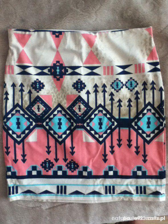spodnica bershka aztec rozmiar m...