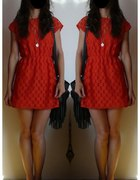 Na co dzień 18 sukienka czerwona