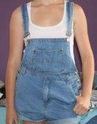 ogrodniczki jeansowe jeans S M