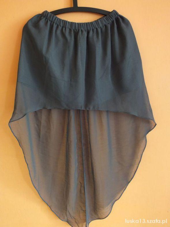 Spódnice sukienka symetryczna mgiełka