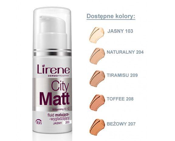 Lirene City Matt jasny lub bezowy...