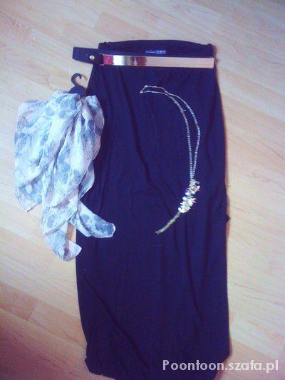 Spódnice Maxi i mirror belt