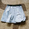 spódniczka rozkloszowana jeansowa h&m 34