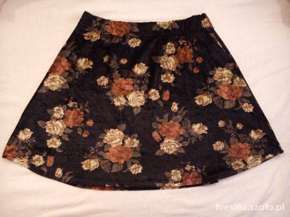 Spódnice spódnica floral XS vintage retro