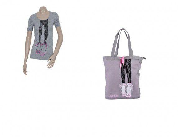 Tshirt i torba z butami