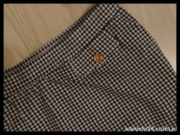 Spódnice spódnica w pepitkę ołówkowa 38