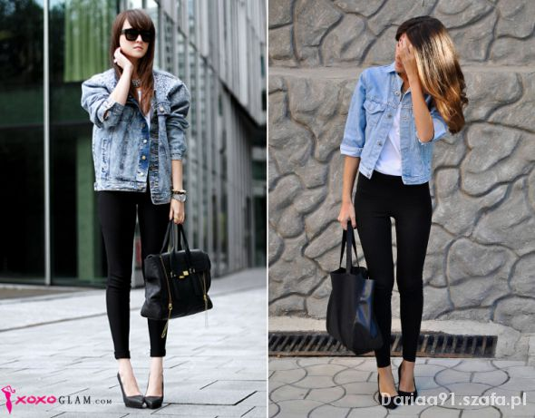 Do pracy Jeans and Leggings