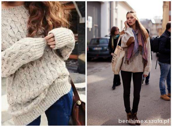 Swetry luźne m oversize...
