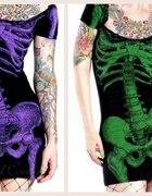 Sukienka SZKIELET KREEPSVILLE 666 DarkCameo...