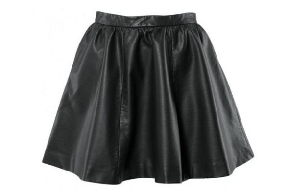 Spódnice Skórzana Spodnica HITT
