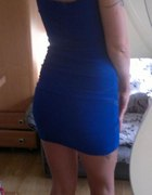 Sukienka niebieska 36 S Bandage Kobalt