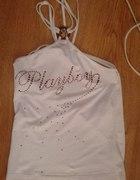 Biała Bluzeczka Playboy...