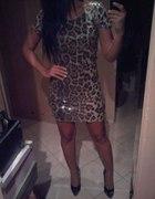 Impreyowe sukienka panterka...