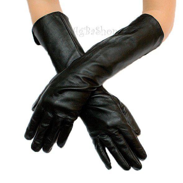 Dodatki Długie rękawiczki