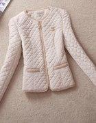 Pikowana kurtka Chanel zip rozmiary replika