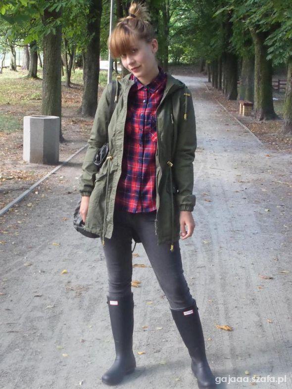 jesienna parka