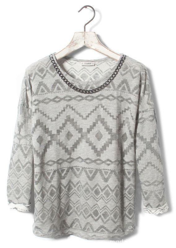 sweter aztec...