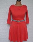 Ciepła nowa sukienka 44