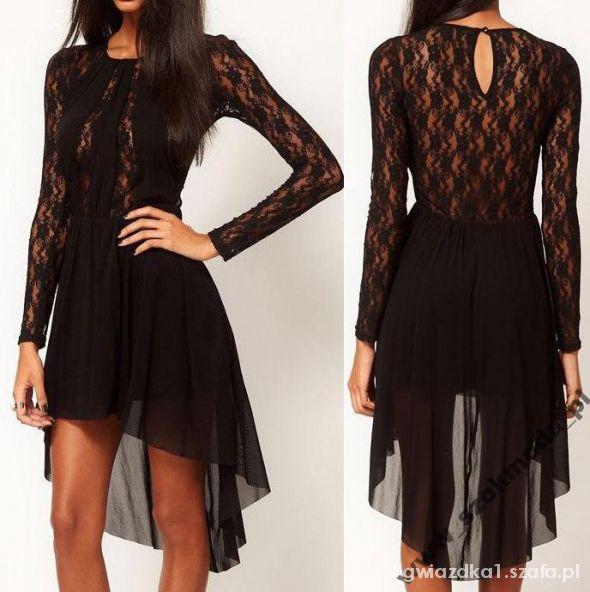 Pękna modna sukienka