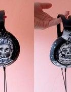 Słuchawki ręcznie malowane czaszki...