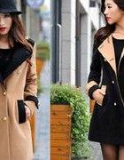 płaszcz japan style 36 dwurzędowy guziki PILNIE