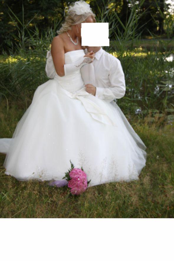 Suknie ślubne piękna suknia ślubna damiqella