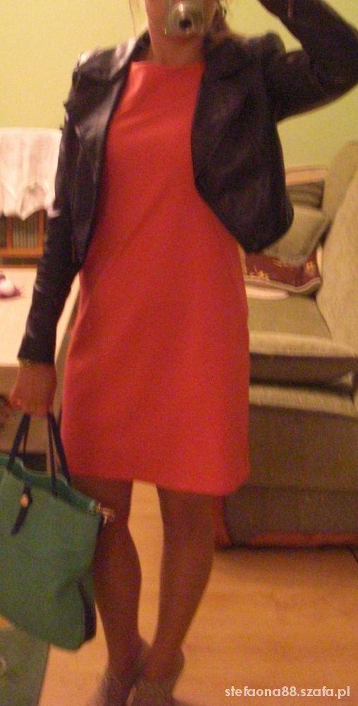 Do pracy Sukienka z zipem do pracy i na różne okazje