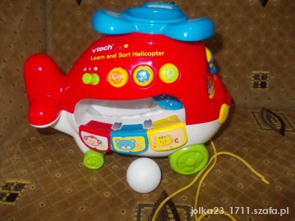 Zabawki anglojezyczny helikopter vtech uczy i bawi