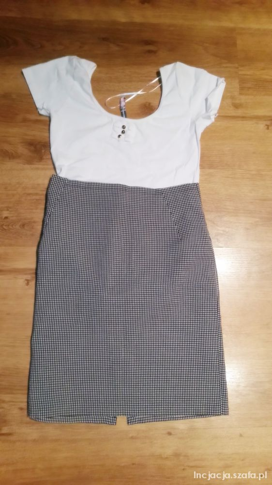 Spódnice Ołówkowa spódnica w kratę