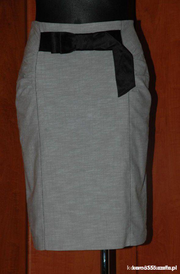 Spódnice Ołówkowa szara 40