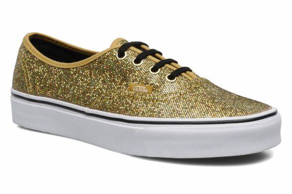 Vans glitter GOLD...