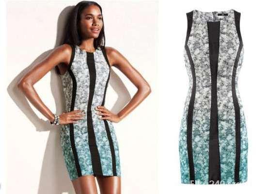 sukienka H&M ombre