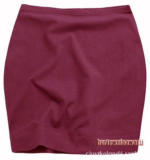 Spódnice NOWA nieużywana spódniczka burgundowa modna 38 40