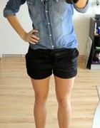 jeansowa koszula stradivarius