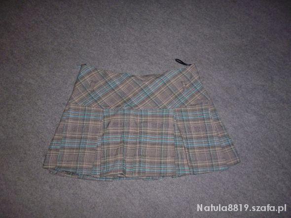 Spódnice mini spódniczka w kratkę
