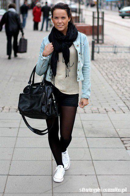 jeansowa kurtka XS S