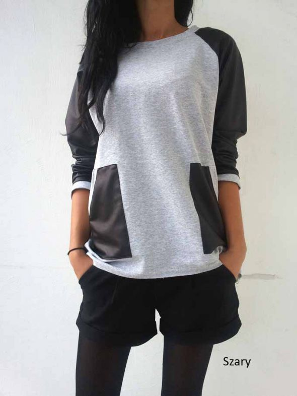 3 kolory bluzo sweterek