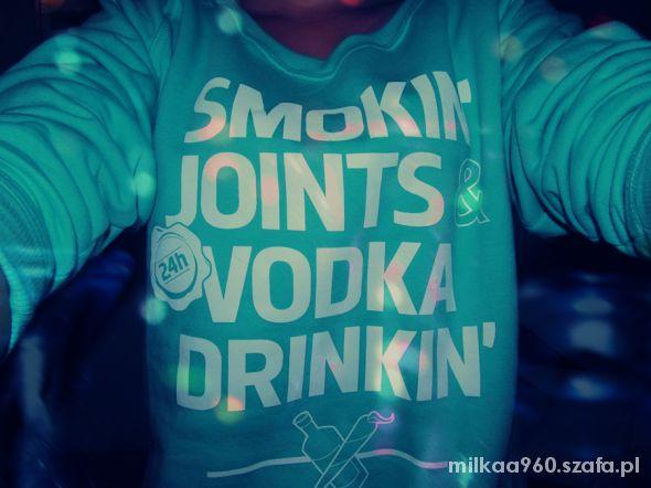 DIAMANTE WEAR MINT SMOKIN JOINTS & VODKA DRINKIN