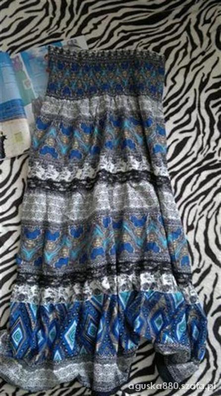 Spódnice Maxi długa spódnica rozmiar 40 Dorothy Perkins