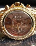 Zegarek Geneva Czekoladowy