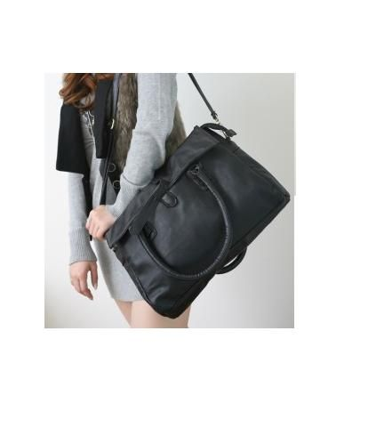 Duża czarna torba