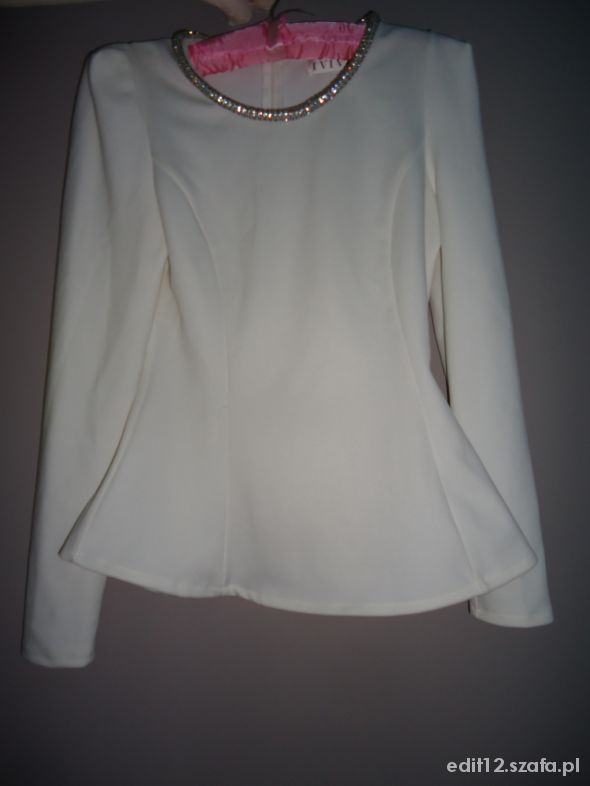 Elegancka bluzka z baskinką