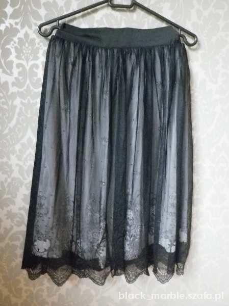Spódnice Koronkowa spódnica midi H&M