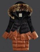 MONCLER kurtka puchowa baskinka i sukienka zimowa...